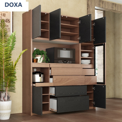DOXA餐边柜多功能厨房碗柜微波炉柜大容量阳台收纳储物高柜