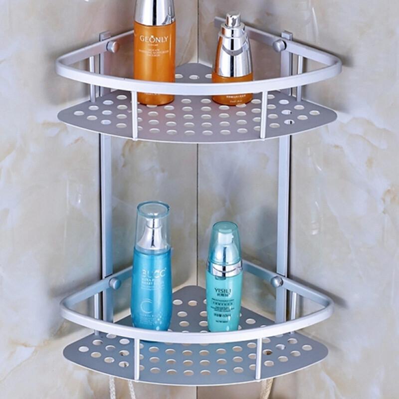 doxa淋浴房三角形置物架浴室角落三脚架卫生间洗澡间厕所用品用具壁挂