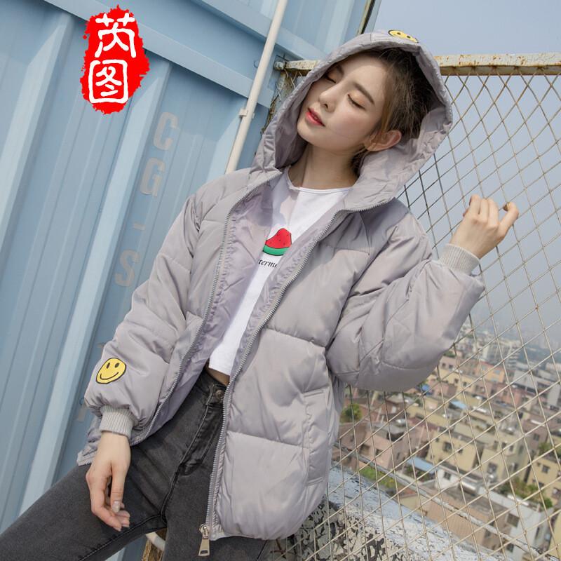 芮图2017冬季新款头像棉外套女韩版学生短款羽绒酒店女生图片