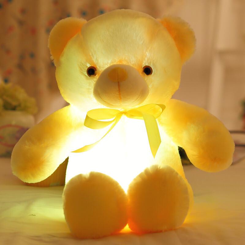 嗨玩创意礼品情人节礼物害羞熊泰迪熊毛绒玩具捂眼熊乐礼轩玩具熊生日