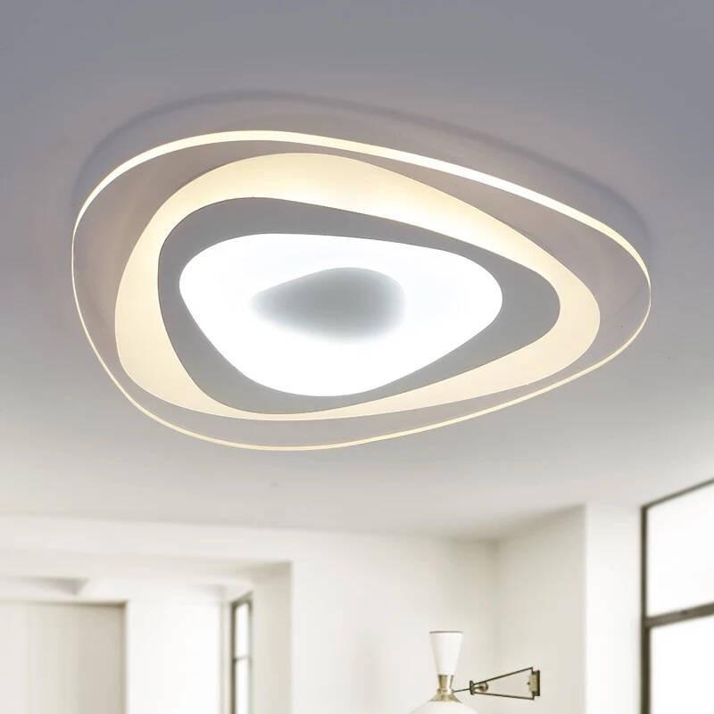 现代led吸顶灯超薄亚克力温馨时尚创意卧室灯客厅餐厅阳台灯饰灯具图片