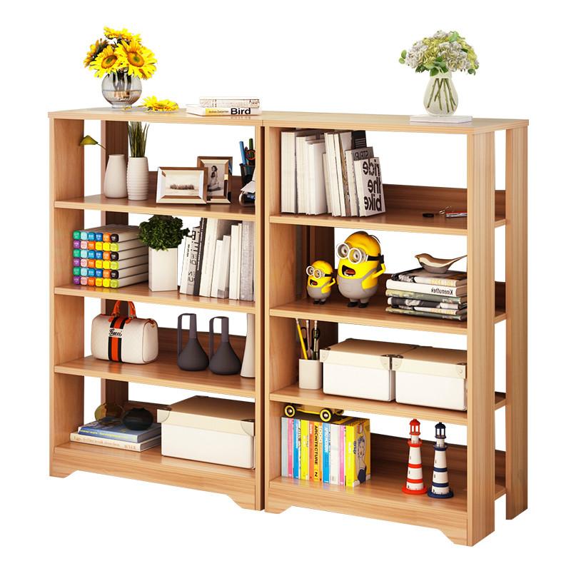 书架书柜落地 简约现代 置物架卧室架子简易书架书柜书架学生书橱
