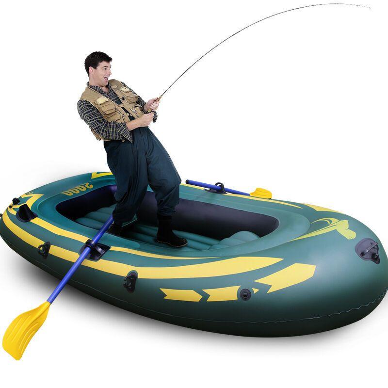 橡皮艇皮划艇充气船加厚船冲锋舟钓鱼拳击古恩图片