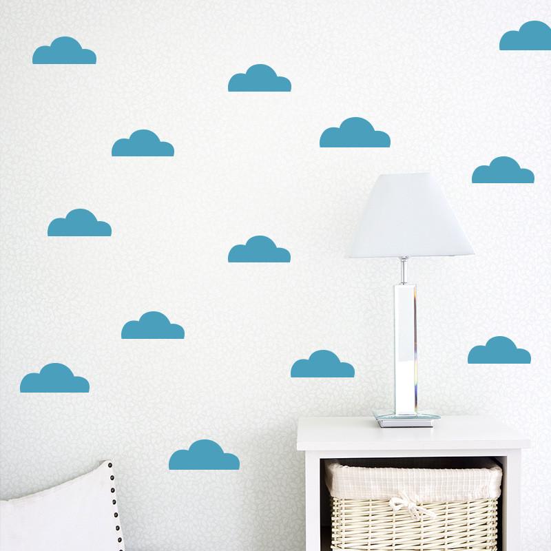 可定制北欧风家居卧室客厅餐厅创意装饰品墙贴纸现代简约云朵