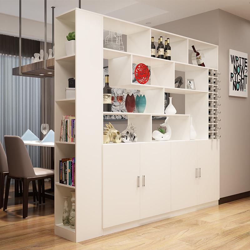 客厅玄关柜隔断酒柜鞋柜门厅间厅柜双面屏风简约现代展示装饰柜子
