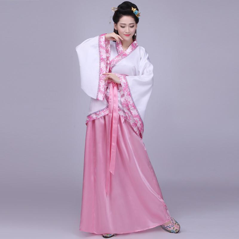 古裝服裝女裝仙女唐朝古代漢服演出服舞蹈襦裙公主貴妃古典舞唐裝