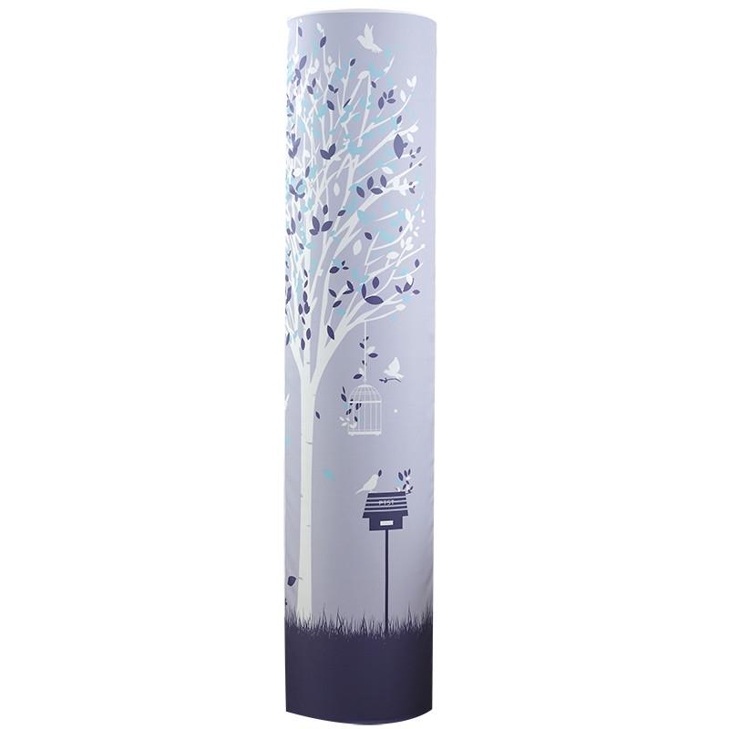 格力i酷i铂圆形空调罩美的天行智行海尔帝尊圆柱立式柜机空调套