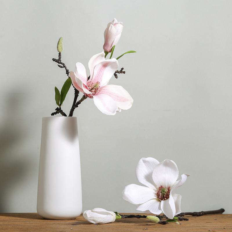 新款2018北欧现代创意简约客厅插花摆件餐桌卧室客厅家居装饰品小陶瓷图片