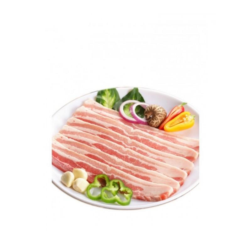 五花肉 500克 新鲜现杀烧烤肉 生鲜 土猪肉农家散养