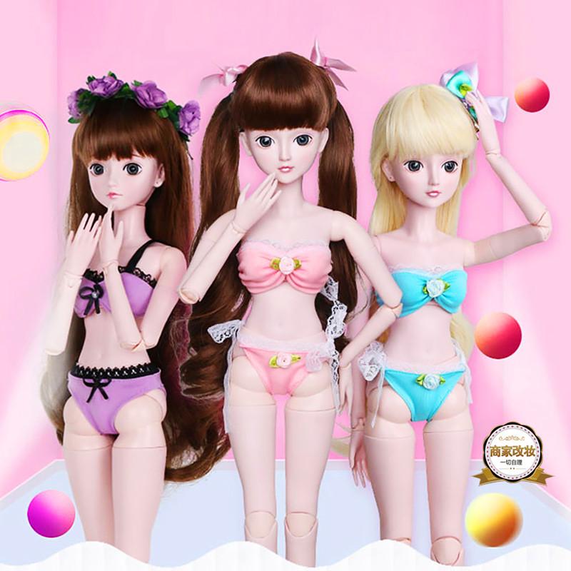 促销好娃衣60厘米叶罗丽娃娃泳衣服夜萝莉精灵梦仙子换装时尚内衣服饰图片