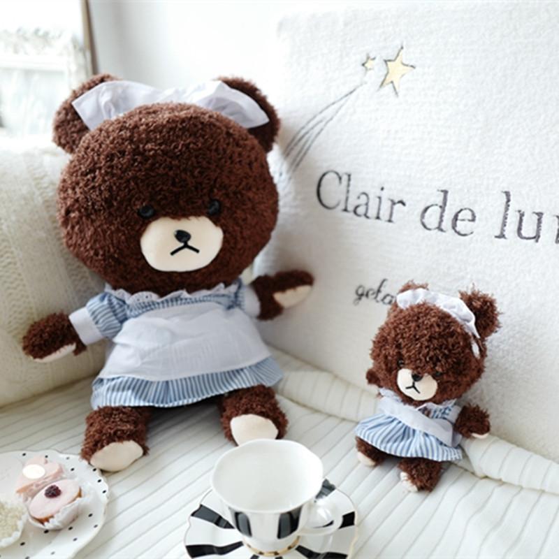促销超萌女仆泰迪小熊毛绒玩具公仔布娃娃韩国少女心抱枕女生玩偶可爱