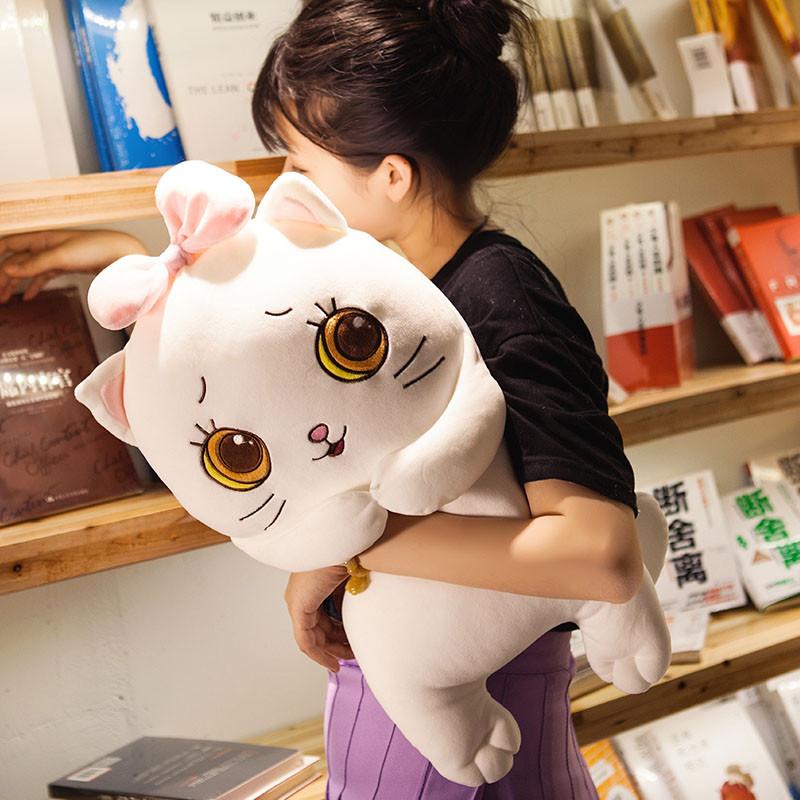 促销大脸猫公仔毛绒玩具可爱小猫咪儿童睡觉抱枕韩国搞怪萌布娃娃女生