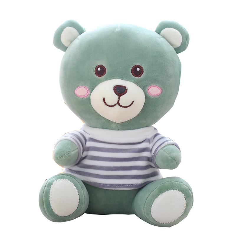 促销可爱小熊公仔毛绒玩具儿童安抚软抱枕萌玩偶抱着睡觉娃娃女孩男生