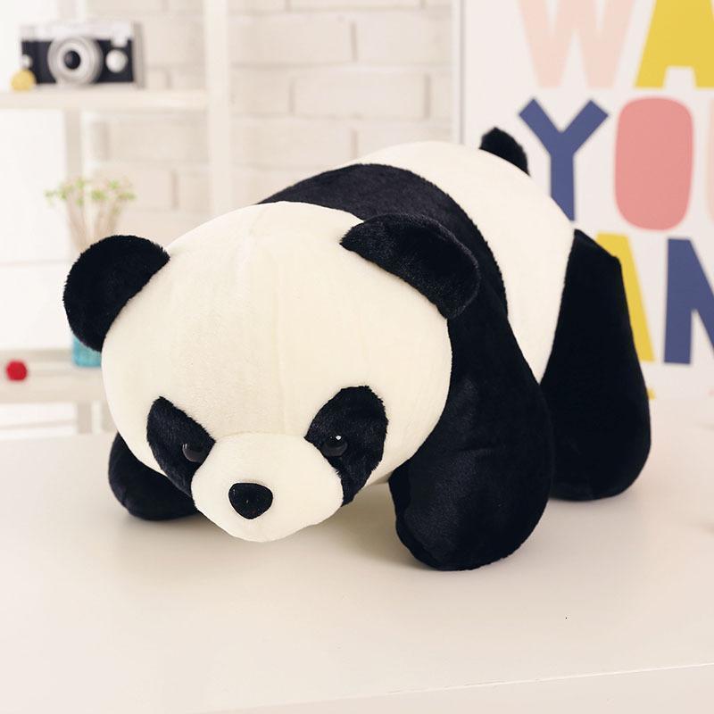 促销小熊猫公仔黑白毛绒玩具大抱抱熊女生抱枕可爱抓机娃娃六一儿童节