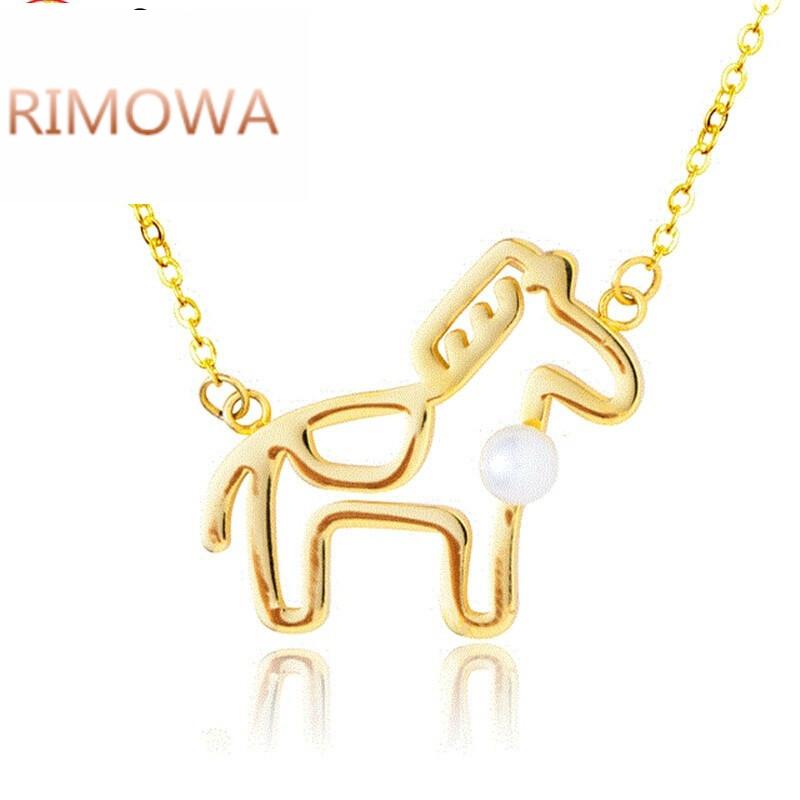 rimowarimowa小小动物 猫狗鸡羊猪马大象鹿 项链 设计