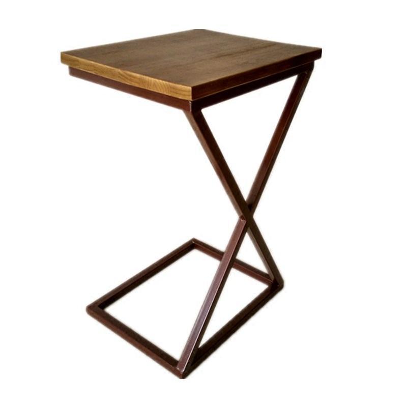 个性迷你小茶几简约现代可移动床边桌实木边几角几沙发边桌小茶几
