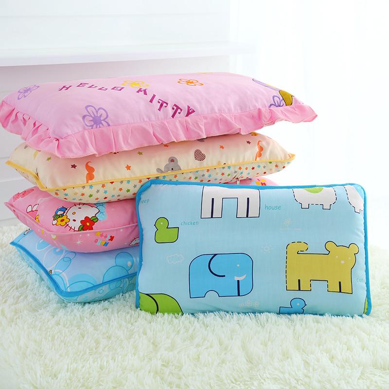 全棉儿童枕卡通幼儿园学生午休枕加长枕芯宝宝婴儿小孩子枕头