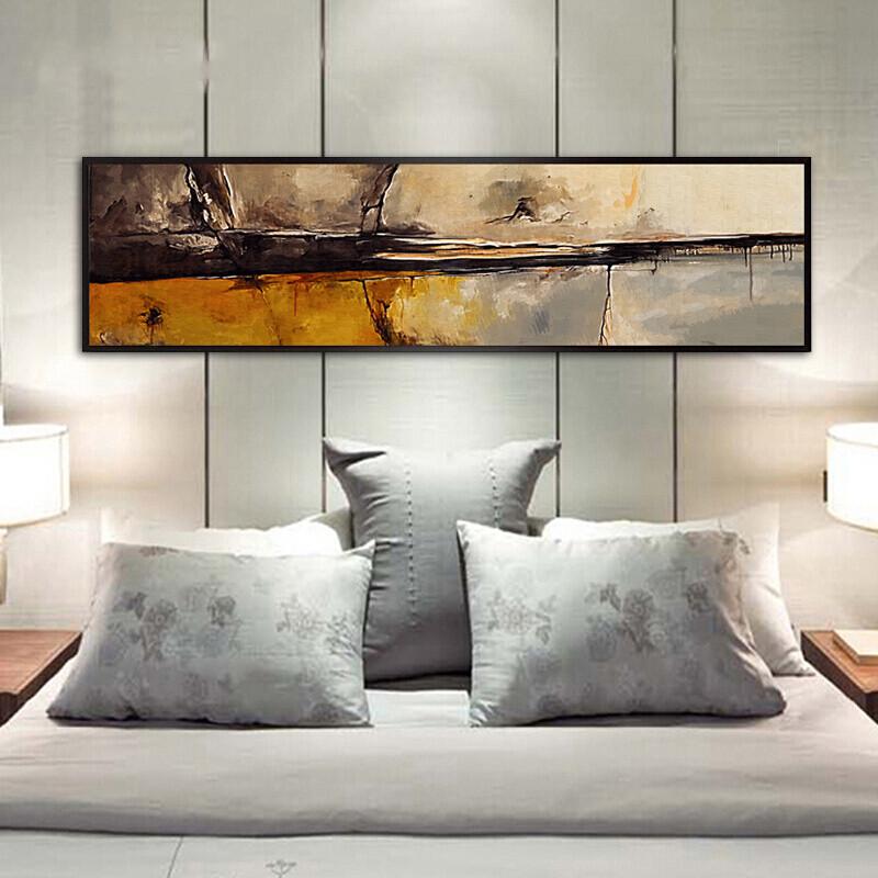 现代简约客厅装饰画抽象画卧室床头画沙发背景墙壁画餐厅挂画