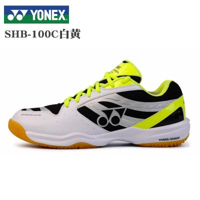 yy正品羽毛球鞋 尤尼克斯YONEX男女通用款運動鞋訓練鞋耐磨橡膠底減震好輕質透氣網面透氣水泥地面