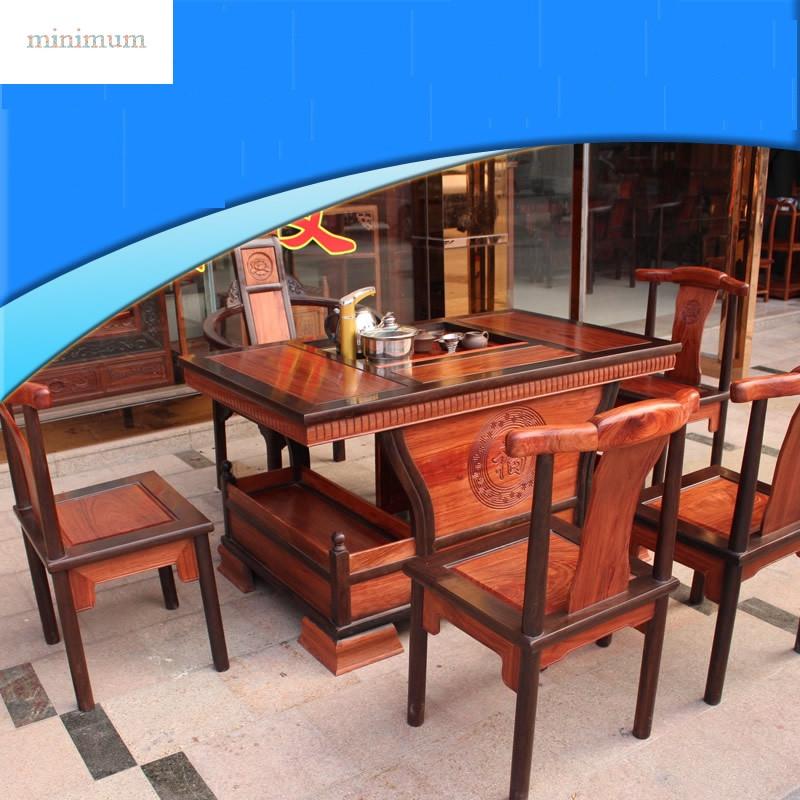 茶艺桌椅组合家具