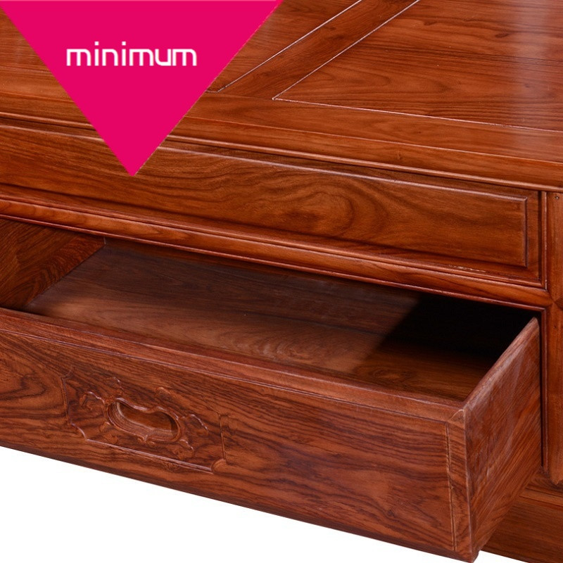 实木双人婚床红木床 非洲花梨木床 现代中式红木家具组合