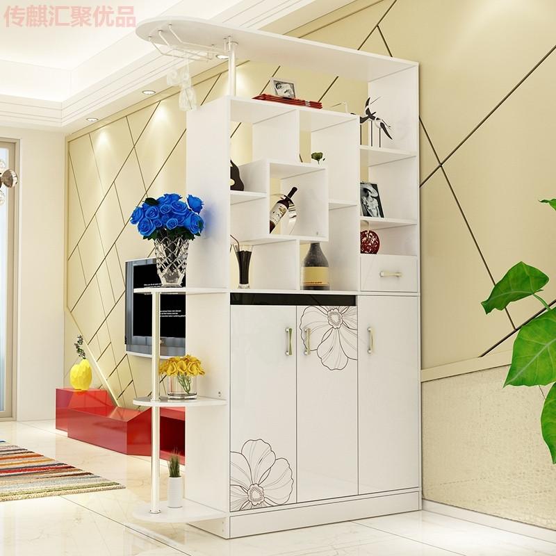 简约时尚门厅柜玄关柜客厅酒柜隔断柜双面免漆鞋柜屏风柜大容量柜
