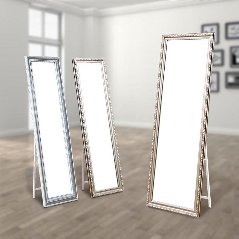 特价试衣镜全身镜落地大镜子全身宿舍穿衣镜折叠学生卧室欧式公主