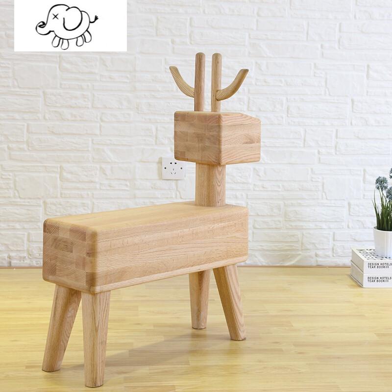 牧马人时尚家用客厅换鞋凳 矮凳创意小板凳实木小凳子图片
