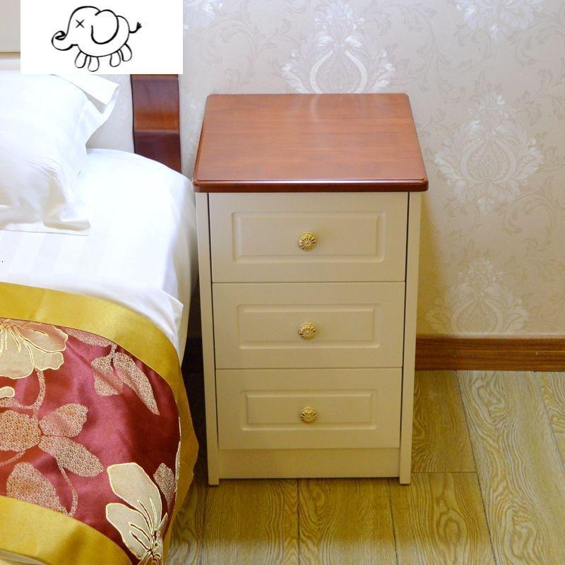牧马人实木田园迷你小户型窄202530354045厘米简约欧式小床头柜