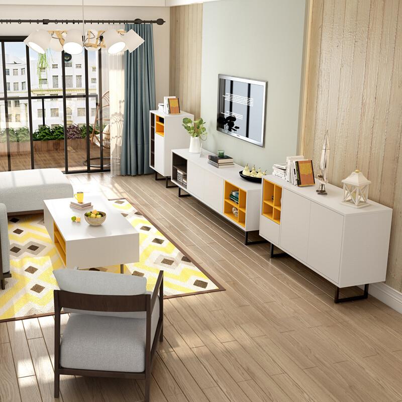 现代简约北欧风格电视柜客厅家具创意电视机柜小户型电视地柜1.图片