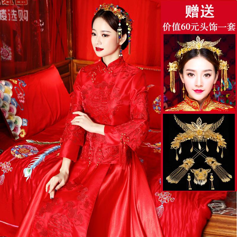 新娘禾绣服发型分享展示