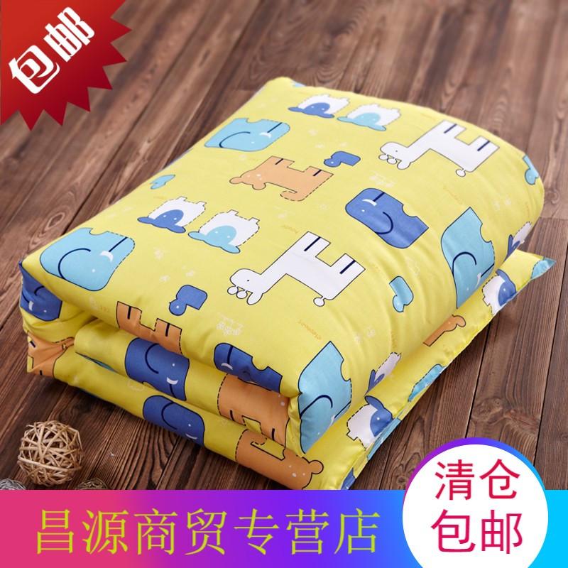 全棉加厚宝宝冬被 幼儿园儿童卡通午睡被子 1.2*1.5米