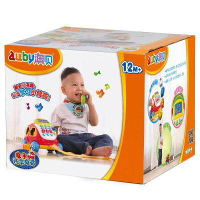 AUBY 澳貝 啟智系列 電子汽車電話 學說話兒童玩具 463429DS