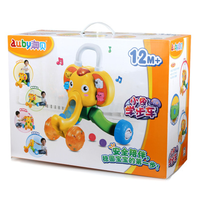 AUBY 澳貝 正品 運動系列 小象學步車嬰幼兒益智玩具1-3歲 463322DS