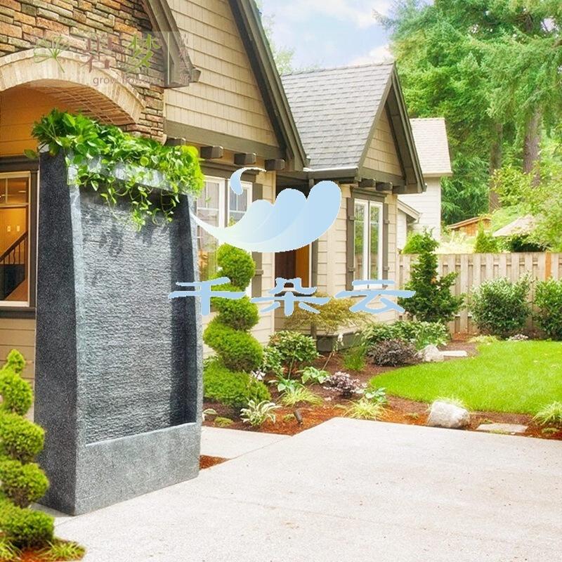 大型欧式流水喷泉鱼池摆件别墅水景家居室内创意假山景观送礼wx13168