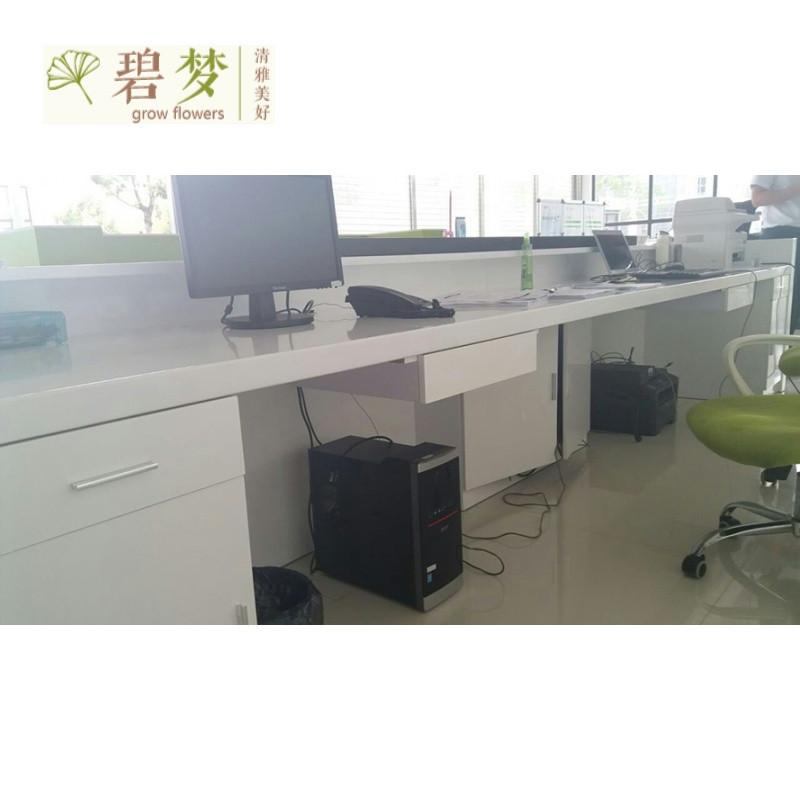 办公家具 上海烤漆前台接待台 公司迎宾台咨询台 服务