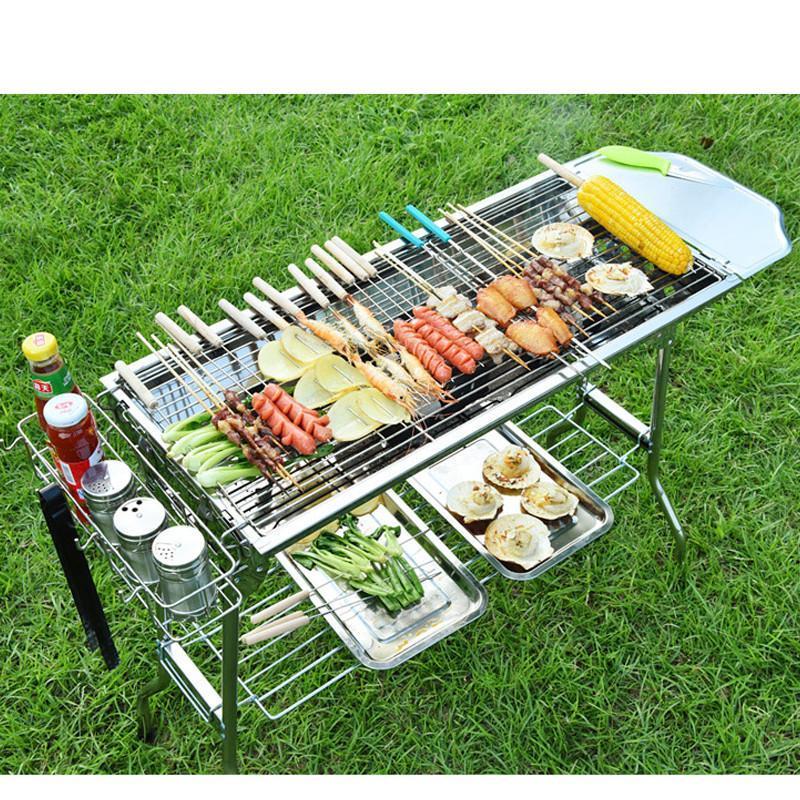 燒烤架戶外5人以上家用燒烤爐木炭碳烤爐bbq燒烤工具全套
