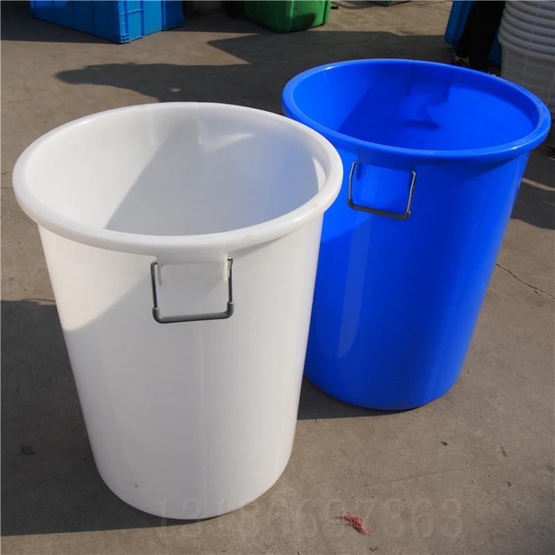 加厚塑料圆桶塑料水桶超大桶圆形垃圾桶食堂用桶米桶