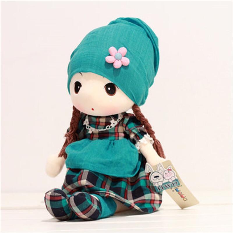 可爱公主格格菲儿布娃娃毛绒玩具洋娃娃布偶儿童礼物女孩生日圣诞节