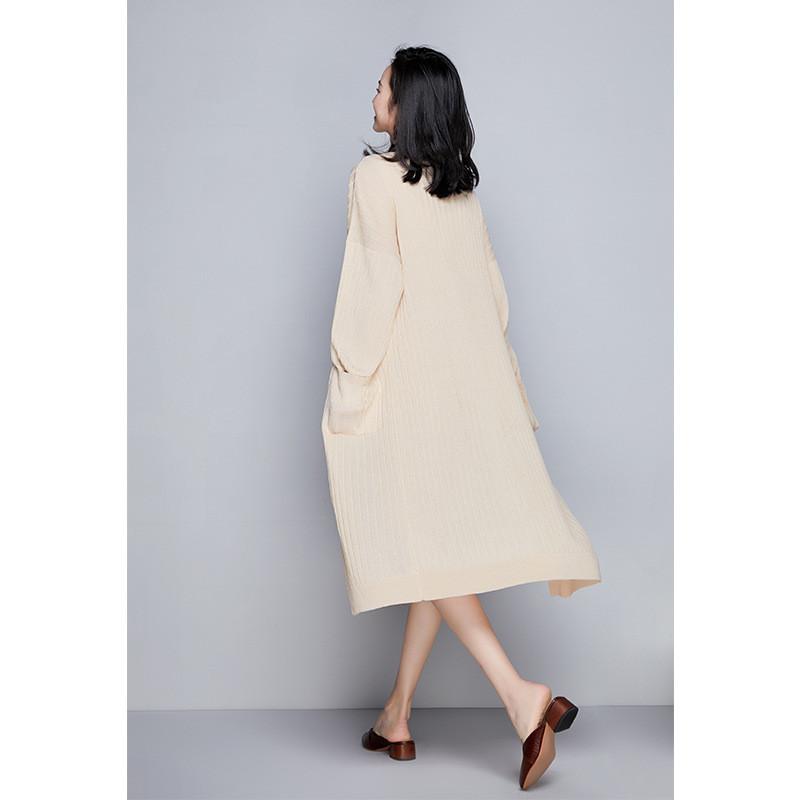 连衣裙套装2018女装新款纯色针织衫毛衣中长裙两件套