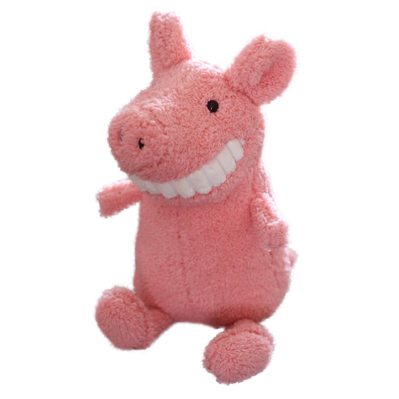 微笑大牙玩偶公仔呲牙猪恐龙毛绒玩具布娃娃女生可爱丑萌抱着睡觉