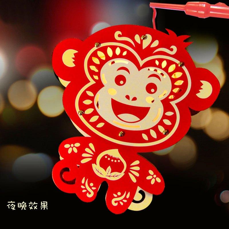 灯笼diy春节装饰品幼儿园儿童手工制作材料新年元宵节