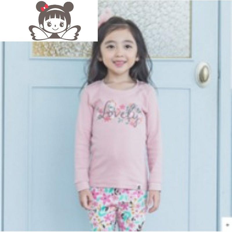 韩国进口儿童秋冬家居服
