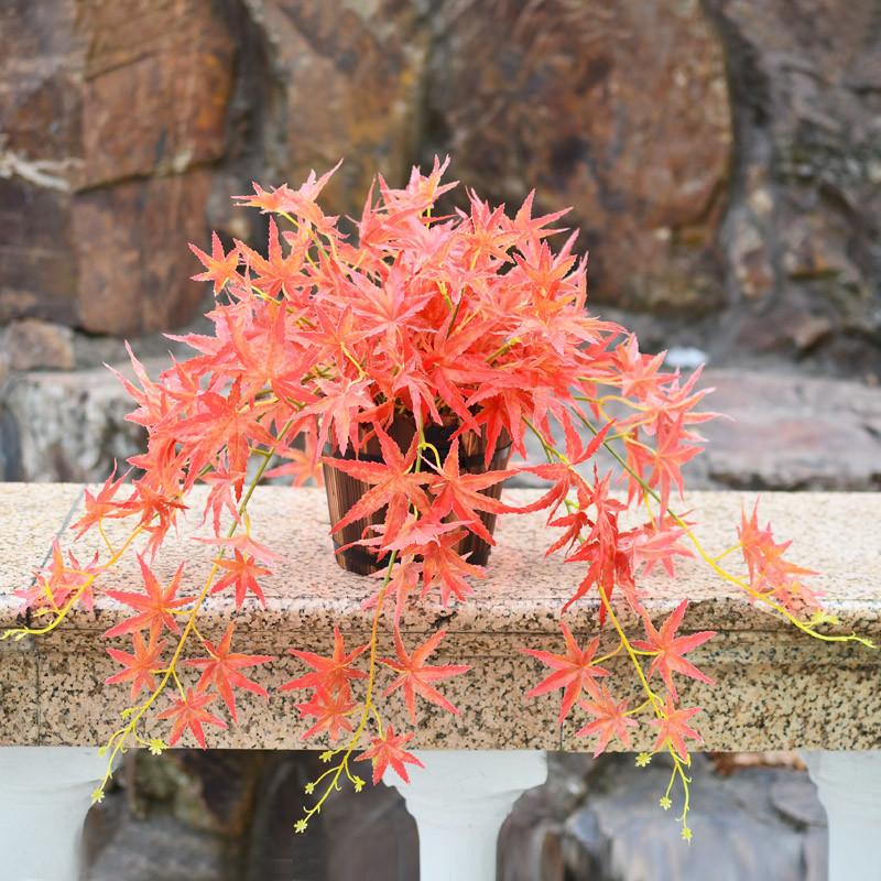 仿真植物假植物绿植室内外装饰墙壁盆栽垂吊绿萝盆栽仿真花草植物