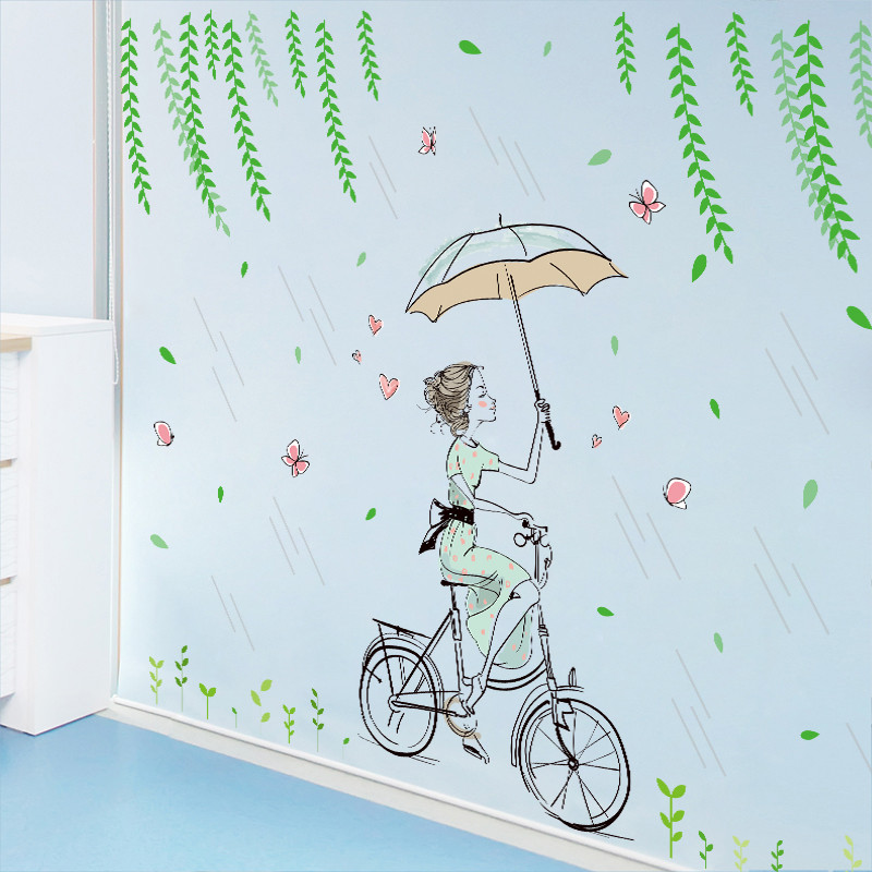 温馨女孩女生少女心宿舍寝室卧室墙贴纸房间墙壁文艺自粘墙纸贴画