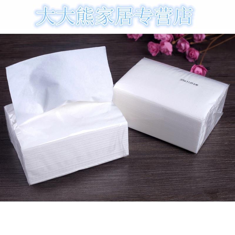100包抽纸批发整箱酒店原木纸巾擦手纸小包餐巾纸家庭装卫生纸抽