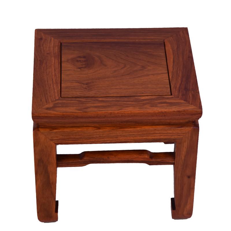 非洲花梨木方凳红木家具凳子仿古实木方腿茶几凳换鞋凳板凳
