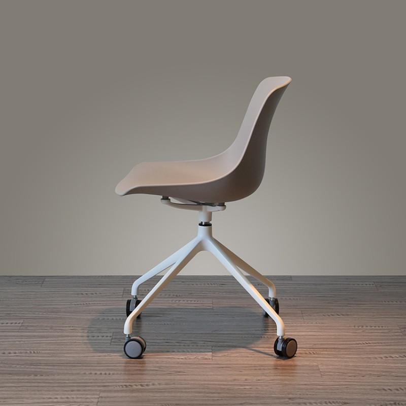 北欧电脑椅家用旋转滚轮人体工学创意书房简约多功能办公椅