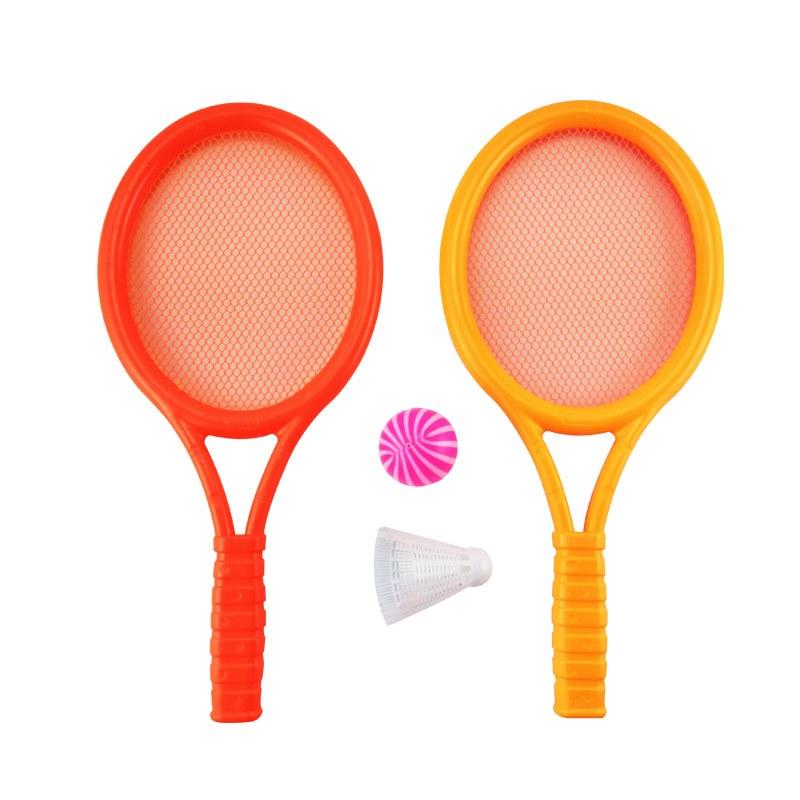 亲子运动玩具幼儿园儿童两用羽毛球拍/网球拍 男游戏宝宝运动器械