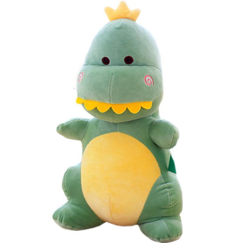 软体小恐龙公仔可爱布娃娃超萌怪兽玩偶儿童宝宝睡觉抱枕男孩女生